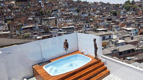 Fotos da favela antares 69