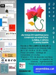 Cartell Sant Jordi 2016 ANC Gz