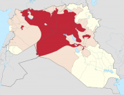 territorial control of the isis