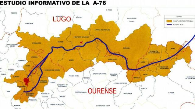 Mapa A 76